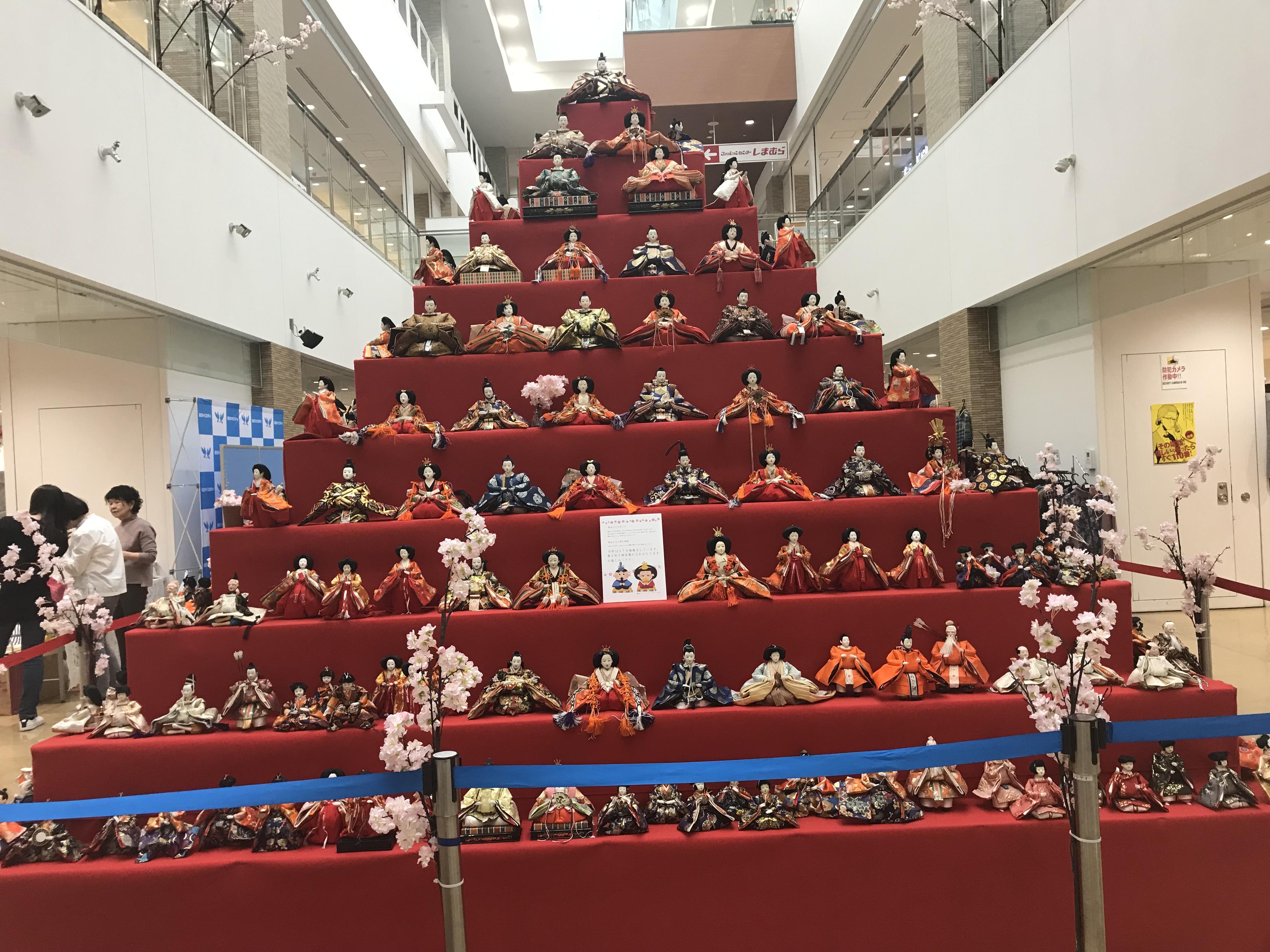 越谷ツインシティ ジャンボピラミッドひなまつり2019